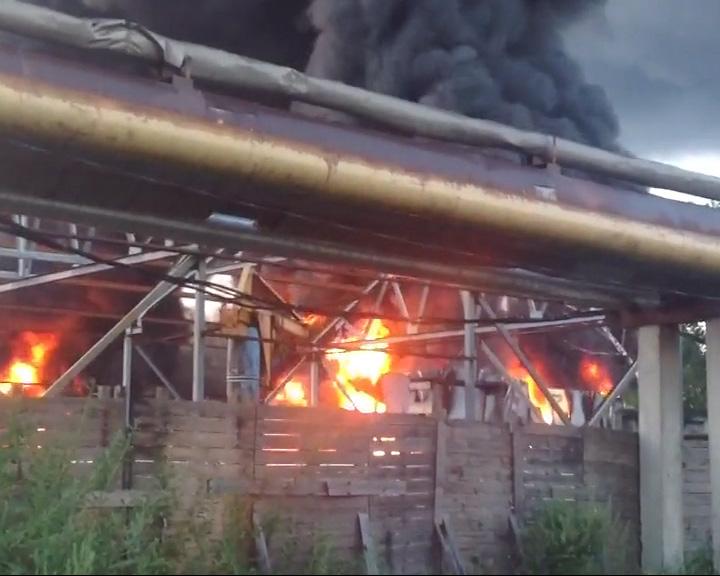 Пожар на Тутаевском заводе
