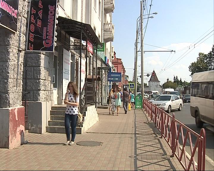 Штрафа грозит владельцу спортбара на улице первомайской