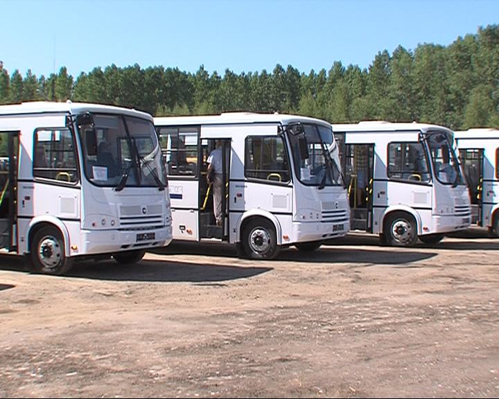 Транспортные предприятия получили ключи от новых ПАЗов