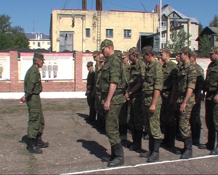 В Ярославской области начались военные сборы