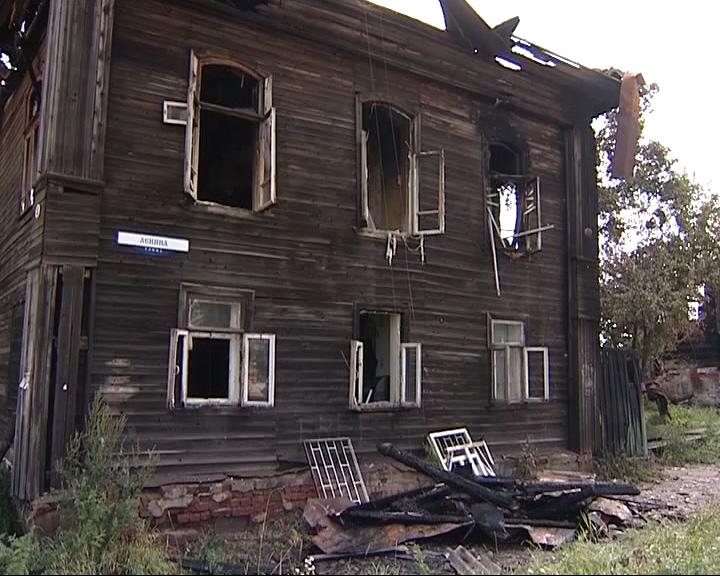 Семь жителей Углича остались без крова