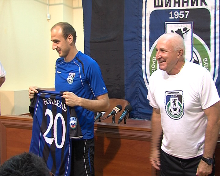 «Шинник» официально представил новичков клуба