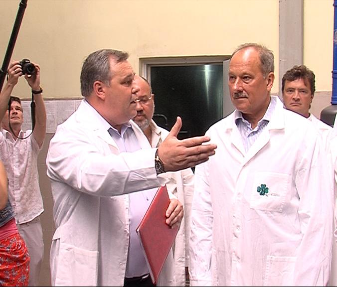 Ярославскую область посетил председатель «Внешэкономбанка» Владимир Дмитриев