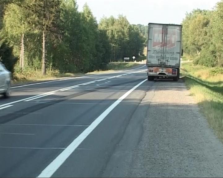 На трассе М8 в районе Данилова сбили пешехода, переходившего дорогу в неположенном месте