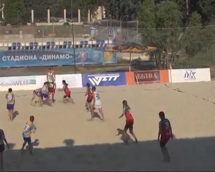 Ярославская женская команда «Флагман» вернулась с Московского турнира по пляжному регби