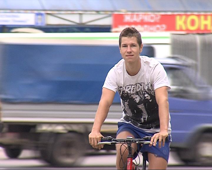 Велосипедист Антон Чичерин вернулся из Крыма