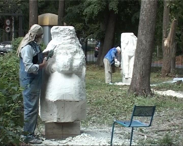 Летний сад купца Акимова в Данилове превращается в город скульптур