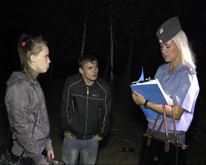 Охота инспекторов на детей-нарушителей, гуляющих после 23:00