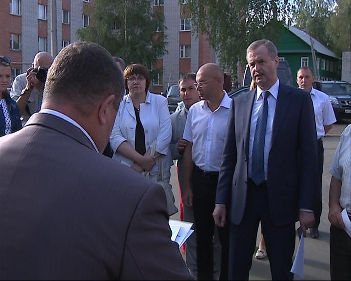 Александр Князьков провел инспекцию дворов в Рыбинске
