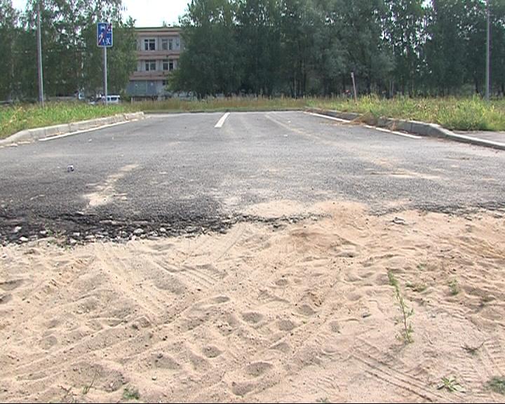 Жители недовольны качеством новой дороги на Бабича