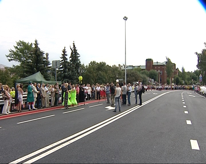 В Переславле открыли мост через реку Трубеж