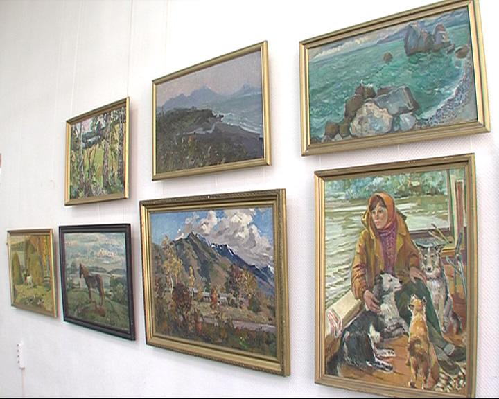 В выставочном зале Союза Художников готовится к открытию юбилейная выставка Нины Кулёвой