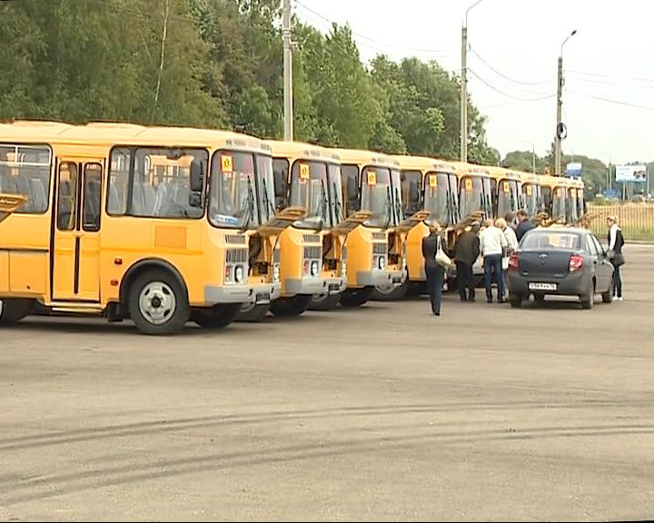Автопарк сельских школ пополнится новыми автобусами