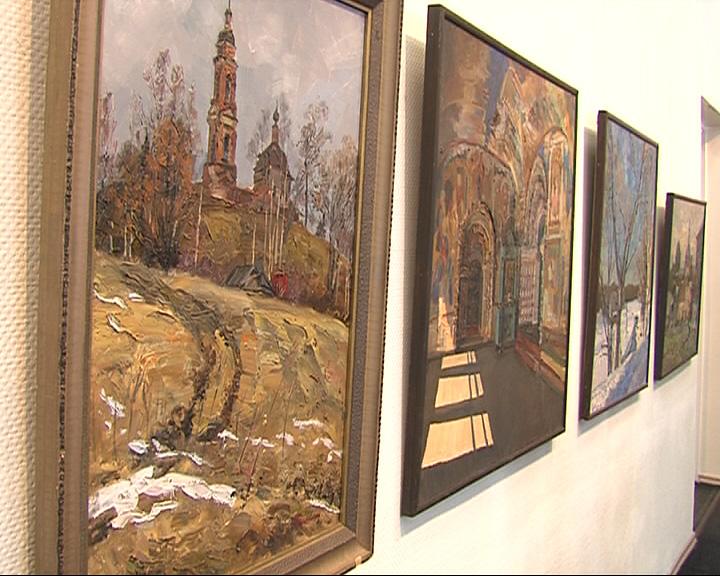 В выставочном зале Союза художников открылась юбилейная выставка Юрия Казакова