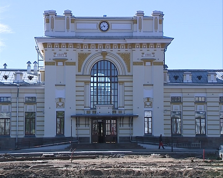 В Рыбинске возобновился ремонт на Привокзальной площади
