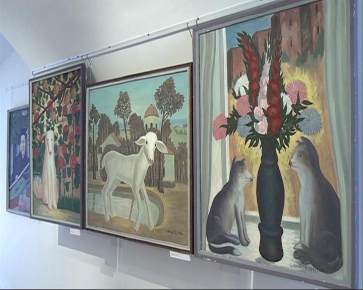 В музее-заповеднике открылась выставка «Глазами души»