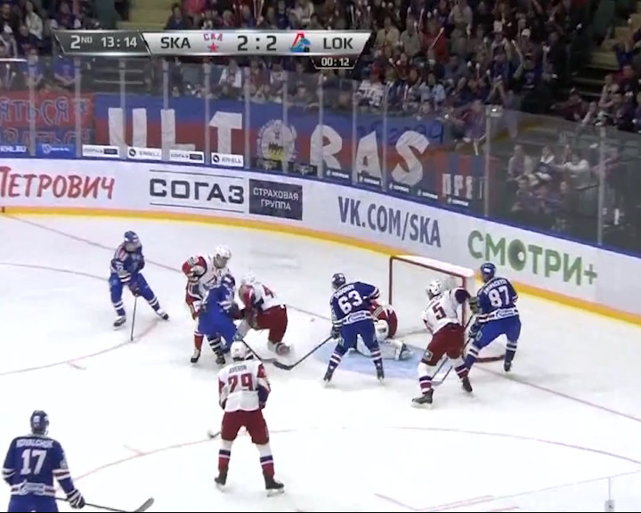 «Локомотив» провел первый матч нового сезона КХЛ