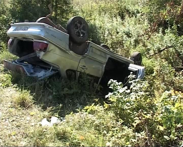 ДТП у деревни Марковово: во время движения у автомобиля лопнула задняя балка подвески