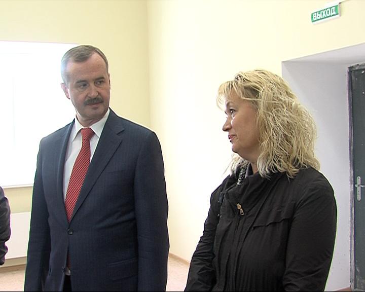 Александр Князьков оценил ход ремонта ЦРБ Гаврилов-Яма