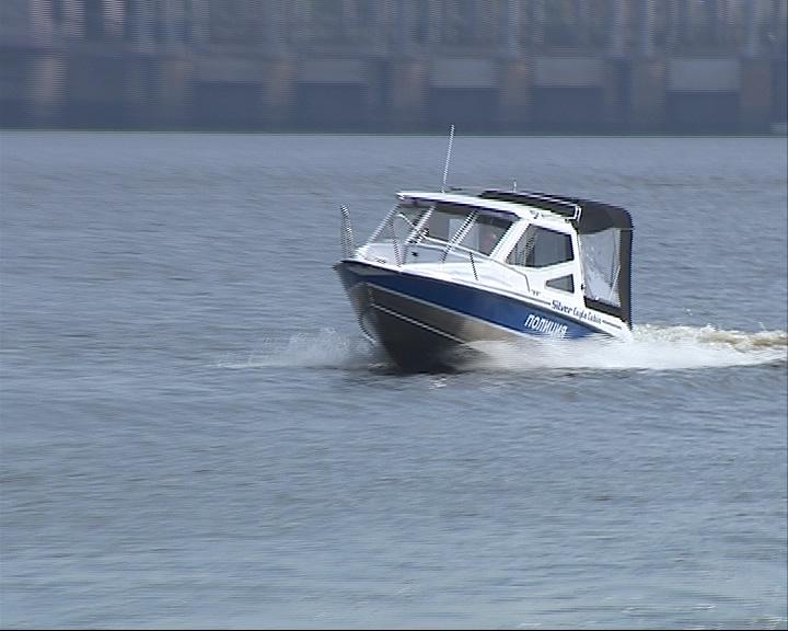 Ни один браконьер теперь не уйдет: технический парк водной полиции пополнился новым катером