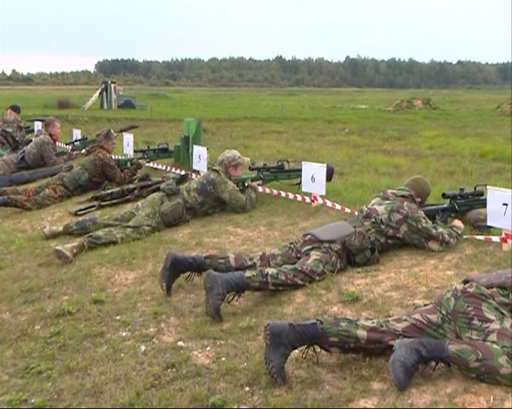 Сотрудники ярославского ОМОНа вернулись с соревнований по стрельбе из снайперской винтовки