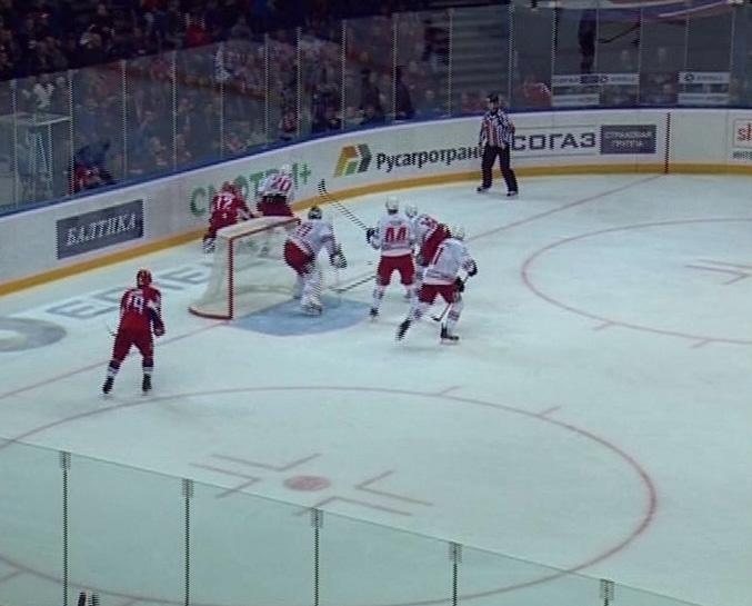 Долгожданная победа «железнодорожников»: «Локомотив» VS «Автомобилист» 2:0