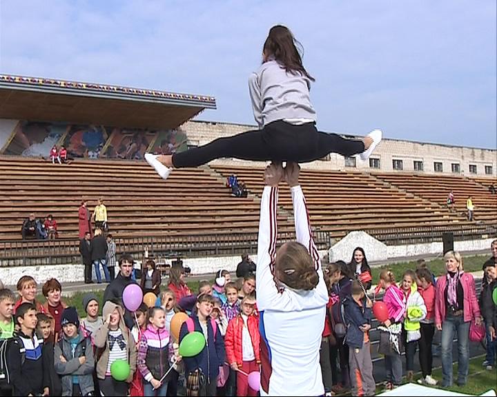 В Рыбинске прошёл настоящий спортивный карнавал