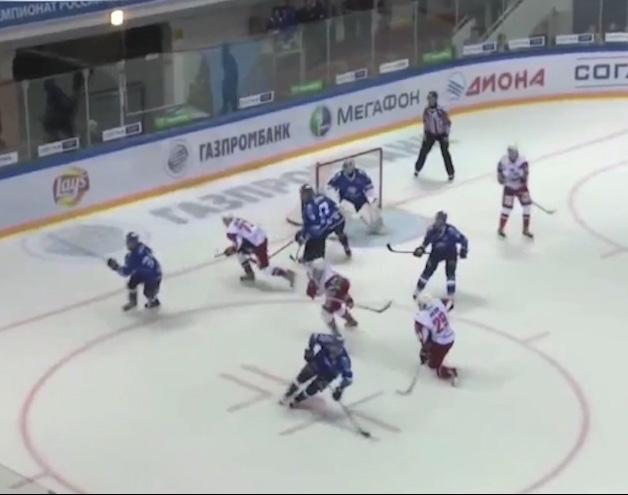 «Локомотив» в серии буллитов обыграл «Барыс»