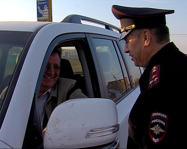 Ловить нетрезвых водителей вышли руководители областного ГИБДД