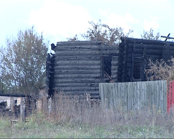 В Переславском районе сгорели два дома