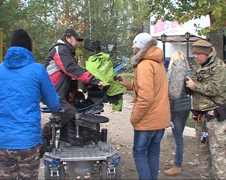 Брагинские дворы стали съемочной площадкой для фильма