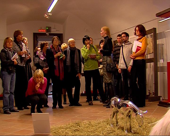В стенах Ярославского музея-заповедника открылась экспозиция работ московских художников