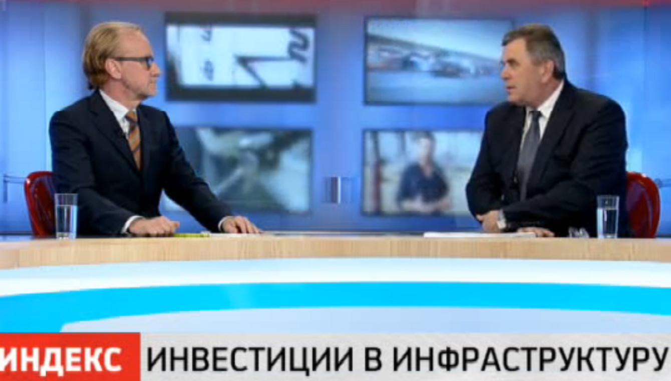Сергей Ястребов стал главным героем в программе на РБК