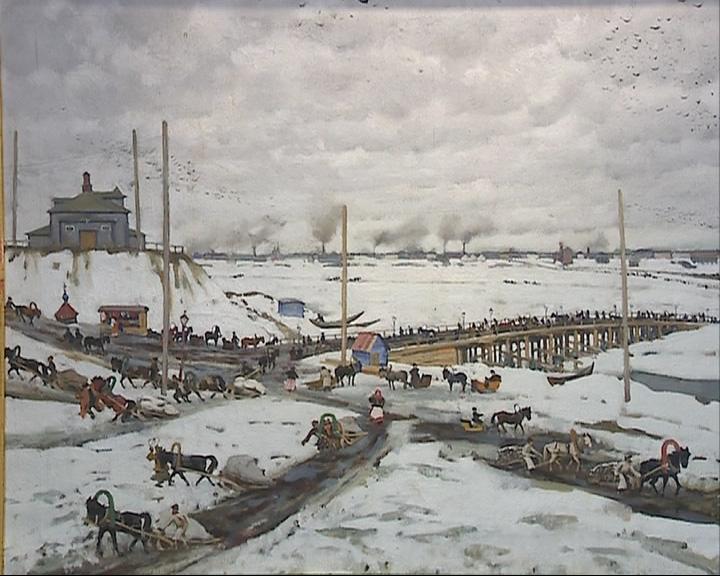 В Ярославском художественном музее открылась выставка работ мастера Константина Юона