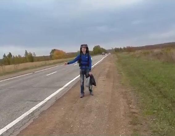 Ярославские студенты автостопом добрались до Сочи