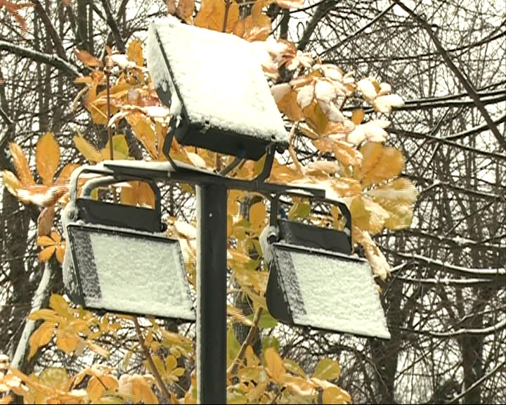 Первый снег выпал практически во всех районах Ярославской области