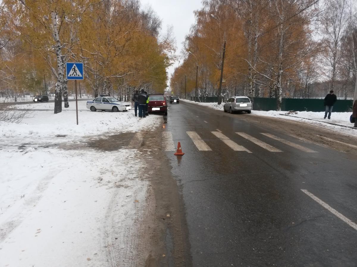 В Заволжском районе водитель «Рено» сбил семилетнюю девочку