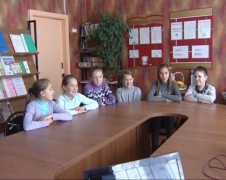 Представители «Первого Ярославского» провели в селе Отрадное для школьников мастер-класс по журналистике