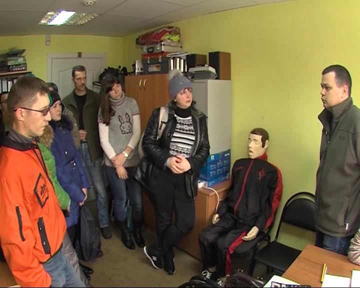 В Ярославле проходят учения волонтеров