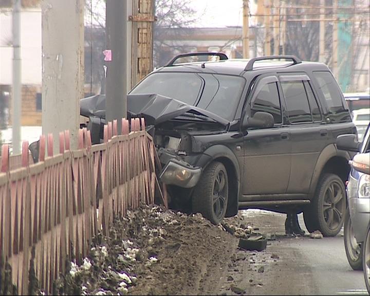На Московском проспекте утром гаишники зафиксировали две аварии