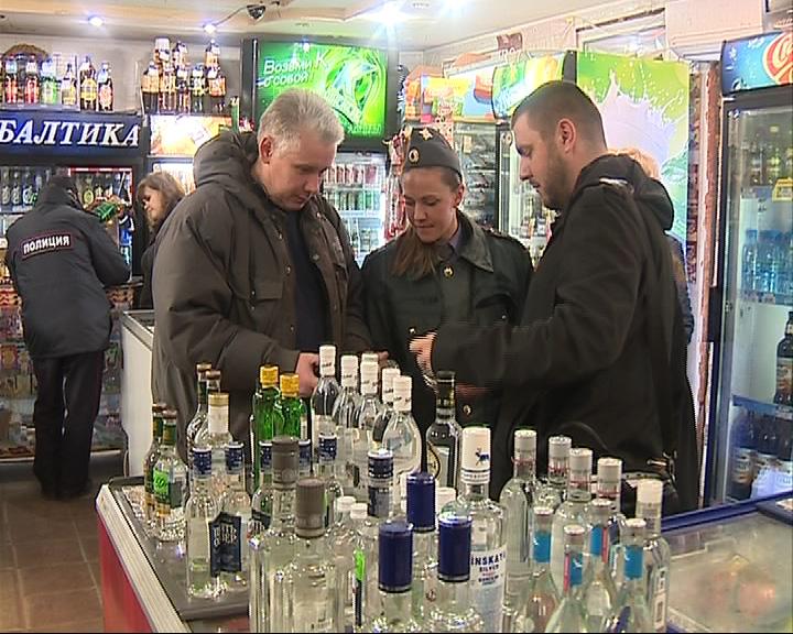 В Ярославле искали нелегальный алкоголь
