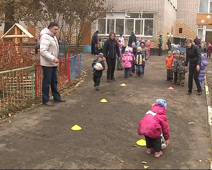 Ребята из детского сада «Дельфин» стали участниками футбольного фестиваля