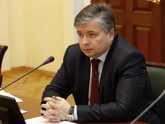 Виктор Костин уходит с поста заместителя губернатора Ярославской области