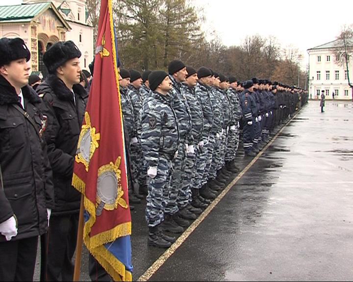 Ярославские полицейские отмечают свой профессиональный праздник