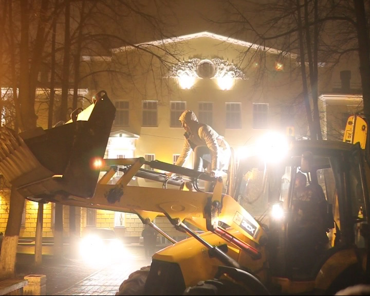 Первомайский бульвар стал съемочной площадкой для фильма «Спасибо тебе»