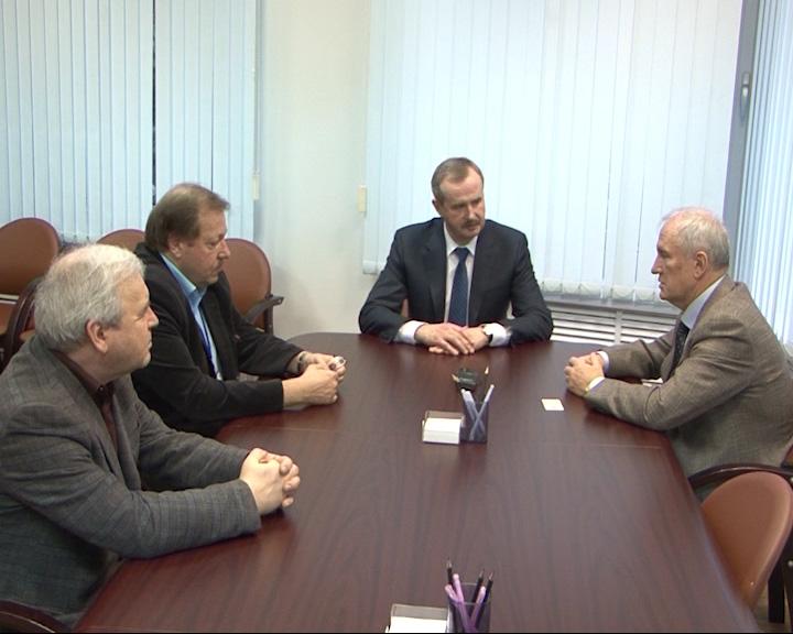 Председатель правительства Ярославской области Александр Князьков встретился с вице-президентом РАН Валерием Козловым