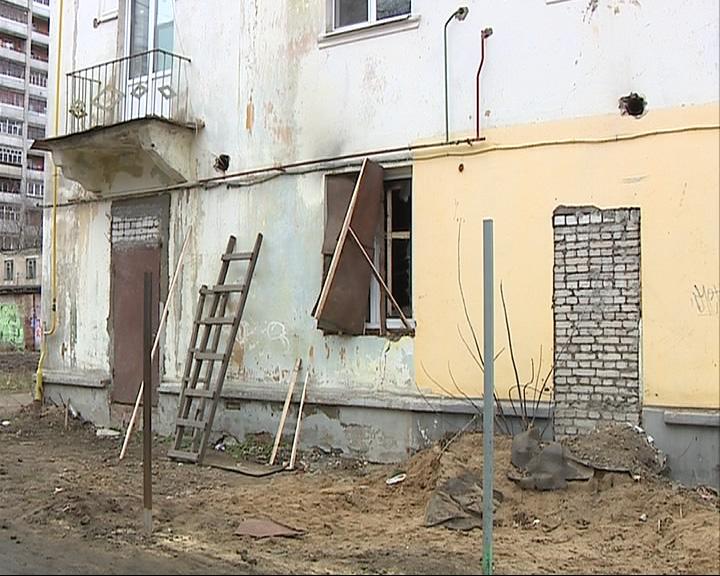 В центре Рыбинска сегодня ночью подожгли магазин нижнего белья