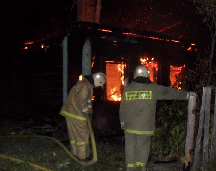 В Ярославской области в выходные в огне погибли три человека