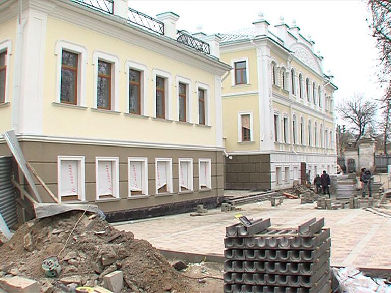 В Ярославле завершается реставрация усадьбы купца Сорокина