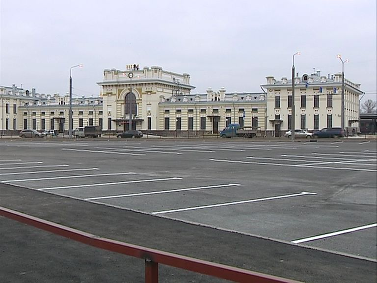 С открытием привокзальном площади в Рыбинске изменится движение общественного транспорта
